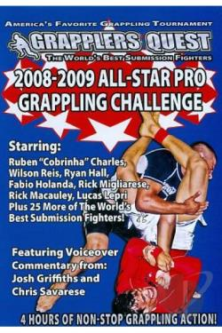 Grapplers Quest - 2008 - 2009 All Star Pro Grappling Challenge DVD Cover Art