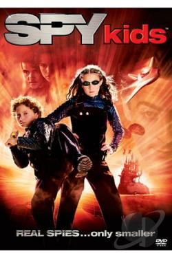 Spy Kids DVD Cover Art