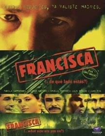 Francisca (...de que lado estas?) DVD Cover Art