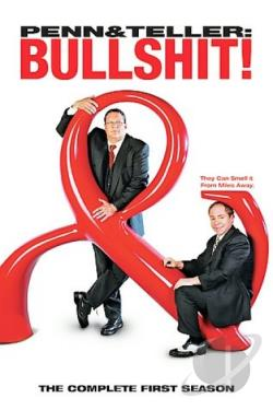 Penn & Teller - Bullshit! - The Complete First Season DVD Cover Art