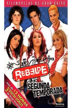 Rebelde - Season 2 DVD Cover Art