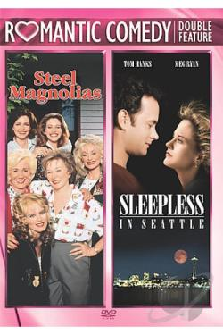 Steel Magnolias/Sleepless in Seattle DVD Cover Art