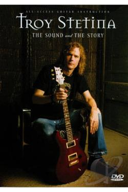 Troy Stetina: The Sound and the Story DVD Cover Art