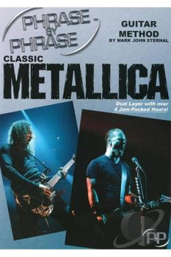 Phrase by Phrase Guitar Method by Mark John Sternal: Classic Metallica DVD Cover Art