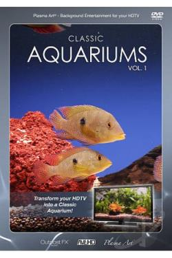 Plasma Art: Classic Aquariums DVD Cover Art