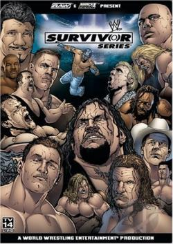 WWE - Survivor Series 2004 DVD Cover Art