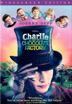 Charlie and the Chocolate Factory DVD Cover Art