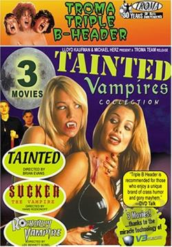 Troma Triple B - Header - Vol. 2: TAINTED VAMPIRES COLLECTION DVD Cover Art