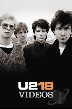 U2 - U218 Singles DVD Cover Art