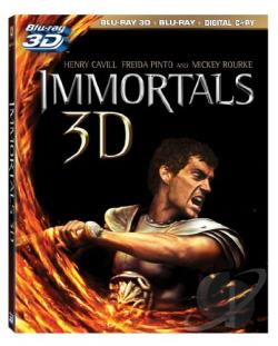 Immortals BRAY Cover Art
