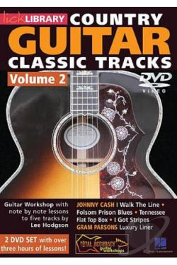 Lick Library: Country Guitar Classic Tracks, Vol. 2 DVD Cover Art