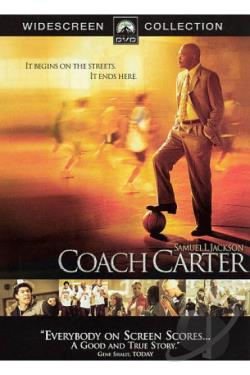 Coach Carter DVD Cover Art