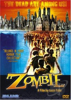 Zombie DVD Cover Art