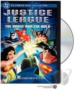 Justice League - The Brave and the Bold DVD Cover Art