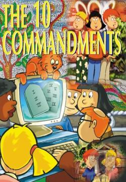 10 Commandments for Children DVD Cover Art