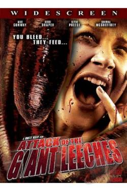 Attack of the Giant Leeches DVD Cover Art