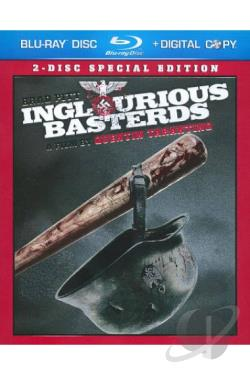 Inglourious Basterds BRAY Cover Art
