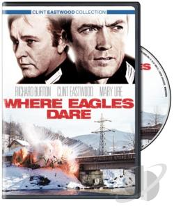 Where Eagles Dare DVD Cover Art