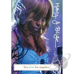 Mary J. Blige - Live In Los Angeles DVD Cover Art
