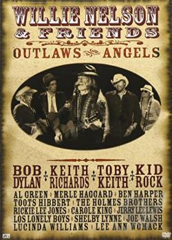 Willie Nelson and Friends - Outlaws and Angels DVD Cover Art