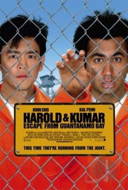 Harold & Kumar Escape from Guantanamo Bay DVD Cover Art