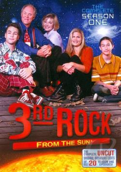 3rd Rock from the Sun - Season 1 DVD Cover Art