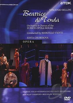 Beatrice di Tenda - Bellini DVD Cover Art