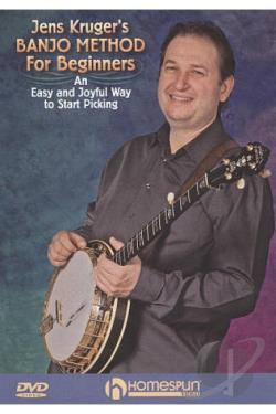 Jens Kruger's Banjo Method for Beginners: An Easy and Joyful Way to Start Picking DVD Cover Art