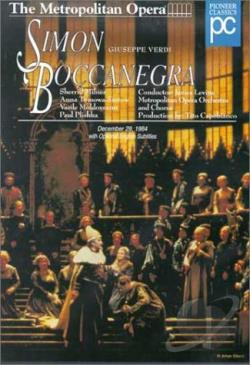 Simon Boccanegra DVD Cover Art