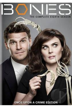 Bones - The Complete Eighth Season DVD Cover Art