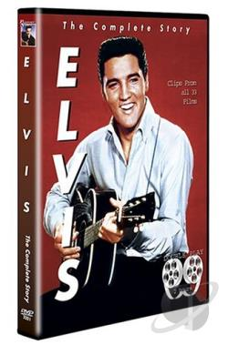 Elvis - The Complete Story DVD Cover Art
