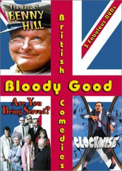 Bloody Good British Comedies - 3 Pack DVD Cover Art