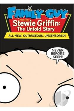 Family Guy Presents Stewie Griffin: The Untold Story DVD Cover Art
