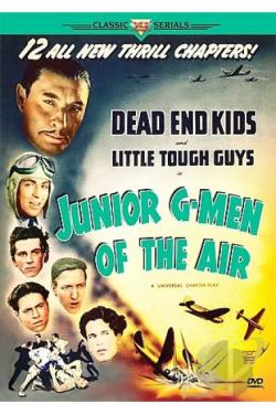 Junior G-Men of the Air DVD Cover Art