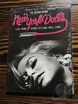 New York Dolls - Pre-Crash Condition: Live From The Royal Festival Hall DVD Cover Art