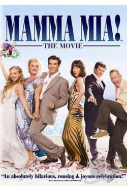Mamma Mia DVD Cover Art