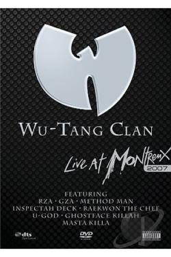 Wu -Tang Clan: Live At Montreux 2007 DVD Cover Art