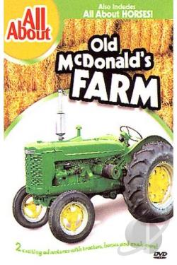 All About - All About Old McDonald's Farm/All About Horses DVD Cover Art