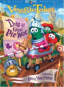 Duke & The Great Pie War DVD Cover Art
