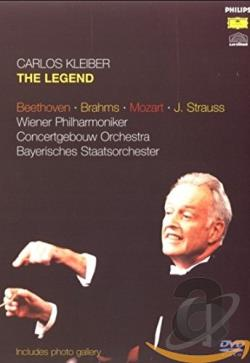 Carlos Kleiber - The Legend DVD Cover Art