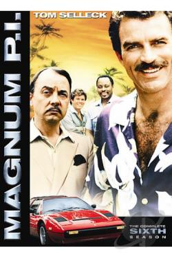Magnum P.I. - The Complete Sixth Season DVD Cover Art