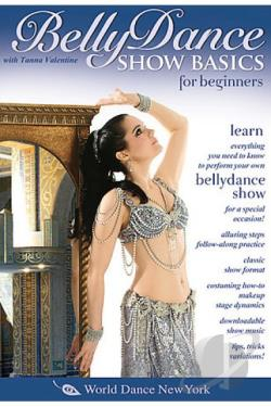 Belly Dance Show Basics for Beginners DVD Cover Art