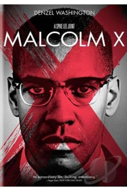 Malcolm X DVD Cover Art