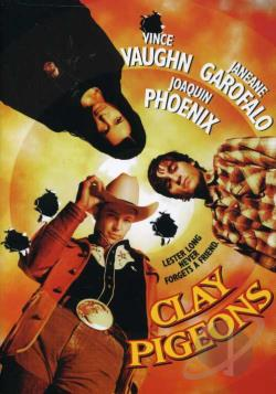 Clay Pigeons DVD Cover Art