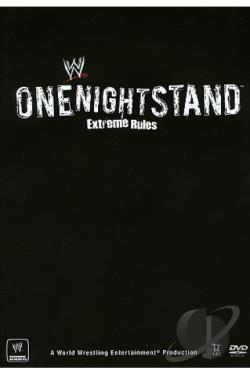 WWE: One Night Stand 2008 DVD Cover Art