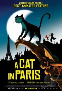 Cat in Paris DVD Cover Art