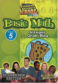 Standard Deviants - Basic Math Module 5: Integer Grab Bag DVD Cover Art