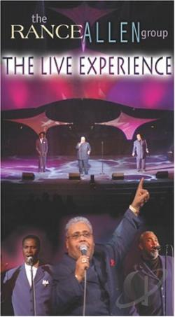 Rance Allen Group - The Live Experience DVD Cover Art