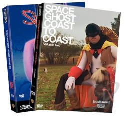 Space Ghost Coast to Coast - Vols. 1-2 DVD Cover Art