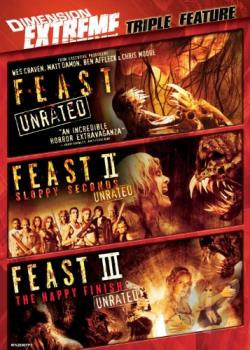 Feast/Feast II/Feast III DVD Cover Art